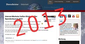 Dienstleister im Netz 2013